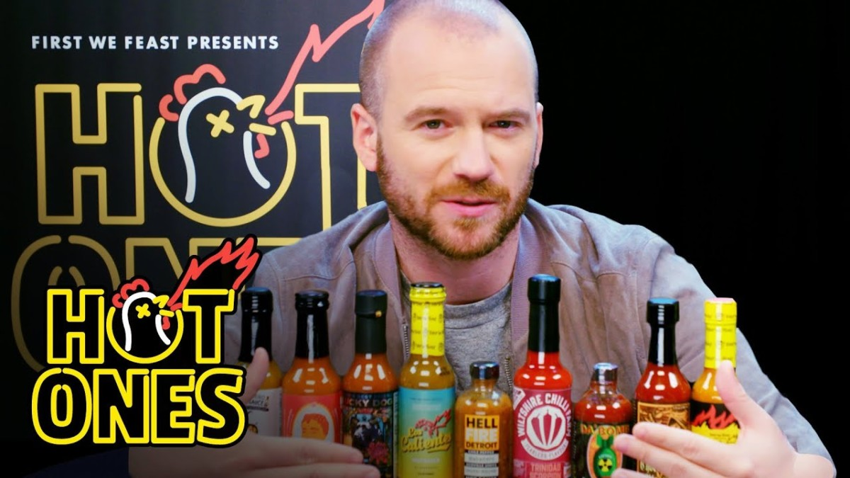 """You are currently viewing First We Feast : """"Hot Ones"""""""