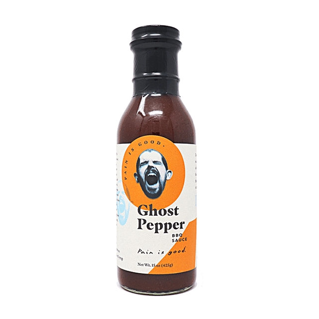 Pain Is Good Sauce BBQ au Ghost Pepper